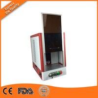 Cheapest 20 watt fiber laser engraving machine enclosed for selling