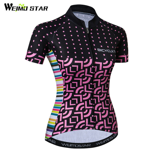 9a3eb179b Weimostar 2019 Bike Team Cycling Jersey Women Summer Short Sleeve Bicycle  Clothing Ropa Ciclismo Quick Dry MTB BiKE Jersey Shirt