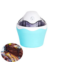 Jamielin Casa Totalmente Automática Mini Área de Trabalho DIY Frito Máquina de Sorvete para As Crianças Fazer Iogurte de Frutas Sorvete Sorveteira     -