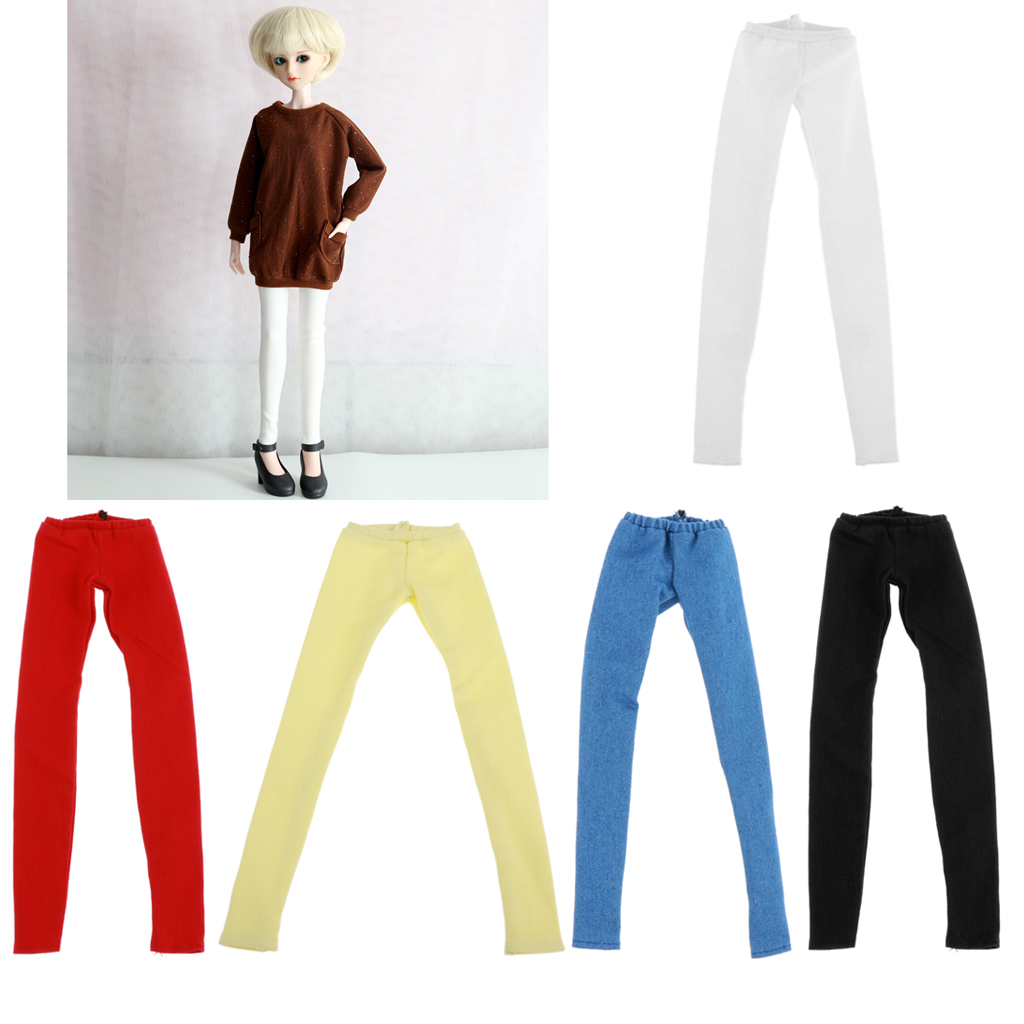 <font><b>1/4</b></font> <font><b>BJD</b></font> Doll <font><b>Clothes</b></font> - Pencil Pants Fashion Style, for MSD SD AS DZ Dollfie or Other 45CM Similar Sized Ball Jointed Doll image