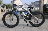 High Quality 21 Speed Powerful 4 0 Inch Fat Tire Electric Mountain Bike 36V 10AH 250W