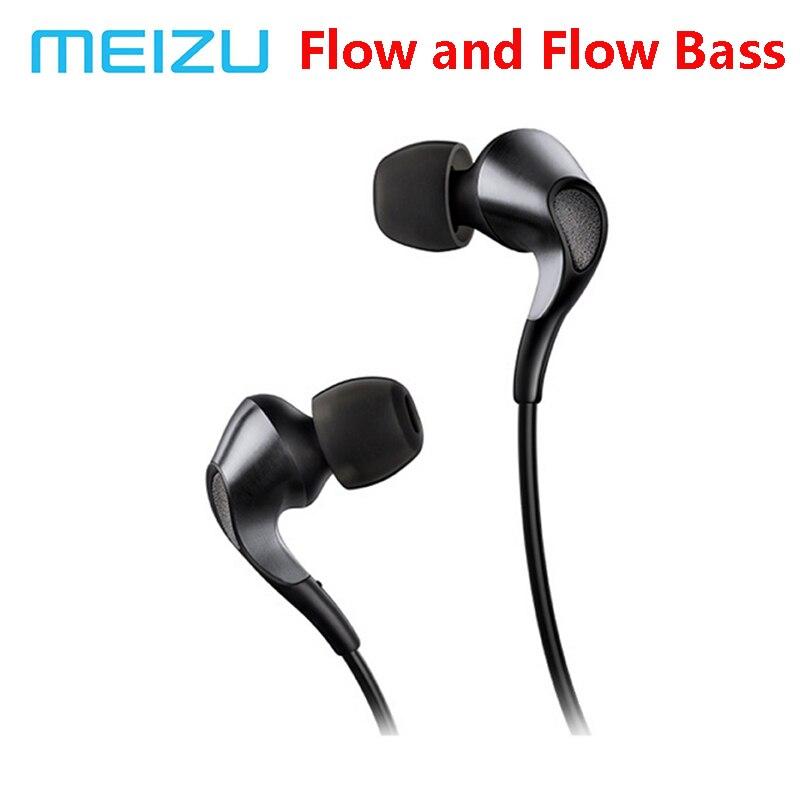 Meizu Flow Bass Headphone Triple Driver In Ear Earphone HIFI Hybrid Earbuds With Mic Remote For