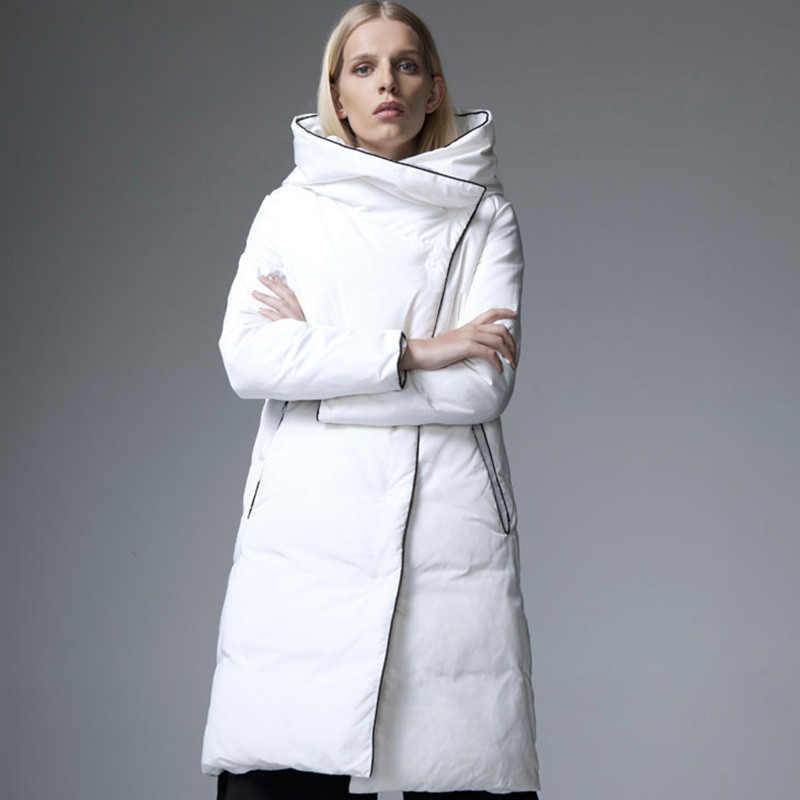 6cefab073e65d ... Women Down Jacket Winter Fashion Cloak Coat Designers 2017 Womens  Puffer Cape Ladies Long Green Red ...