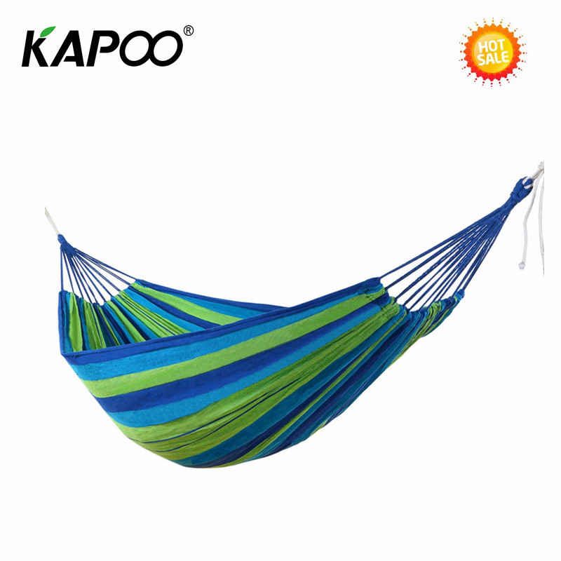 Leisure Chair Outdoor Hammock Single Double Hammock For Outdoor Furniture Hiking Camping Picnic