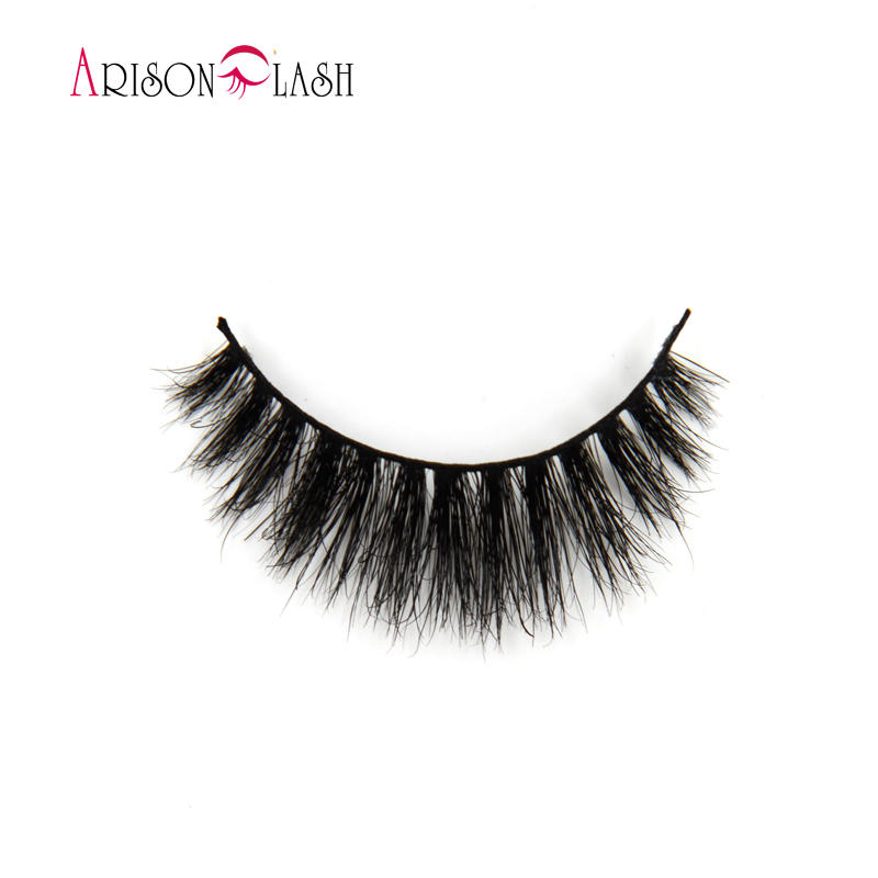 3d H813 Full Strip Lashes Hand Made Natural Eyelashes Extensions