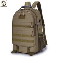 Outdoor Men Women Military Tactical Backpack Trekking Sport Travel 50L Nylon Camping Hiking Trekking Camouflage Bag