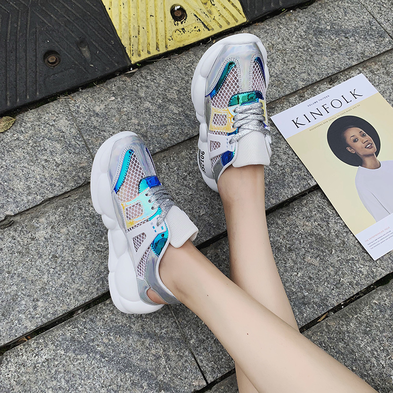 New Women Chunky Sneakers Casual Dad Shoes Comfortable Breathable Mesh Harajuku Platform Sneakers 2019 New Women SandalsNew Women Chunky Sneakers Casual Dad Shoes Comfortable Breathable Mesh Harajuku Platform Sneakers 2019 New Women Sandals