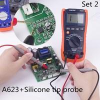 HONEYTEK A623 inductance tester multimeter digital meter with Silicone tip proble