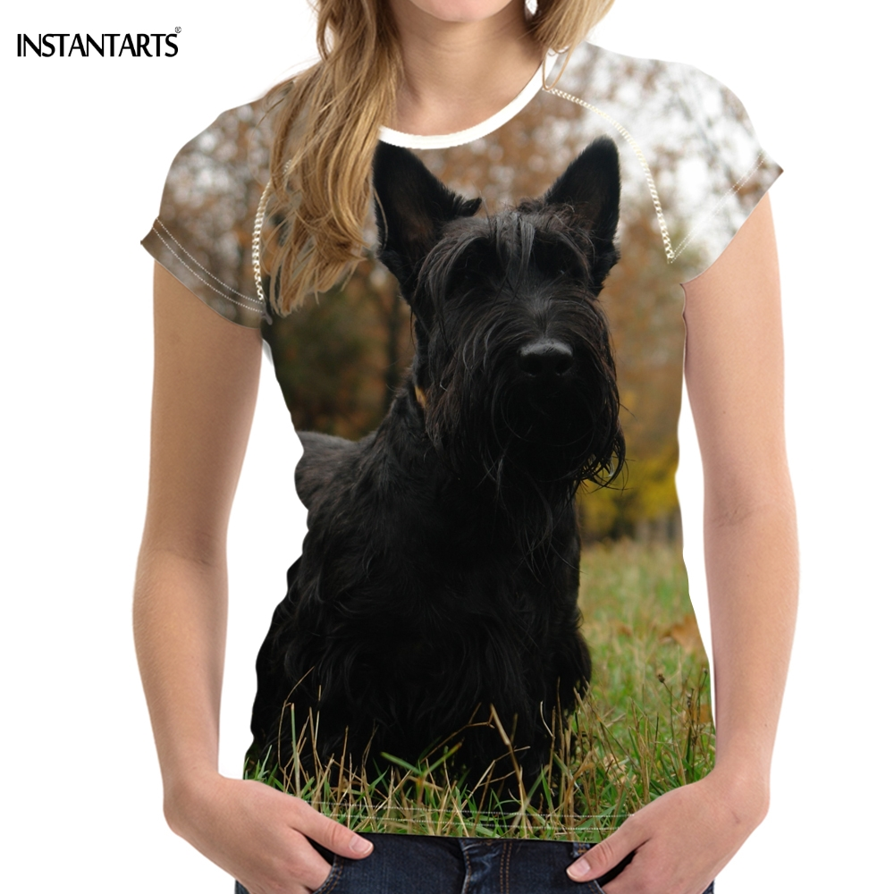 Scottish Terrier Dog Breed T-Shirts Ladies /& Men/'s sizes Round-Neck