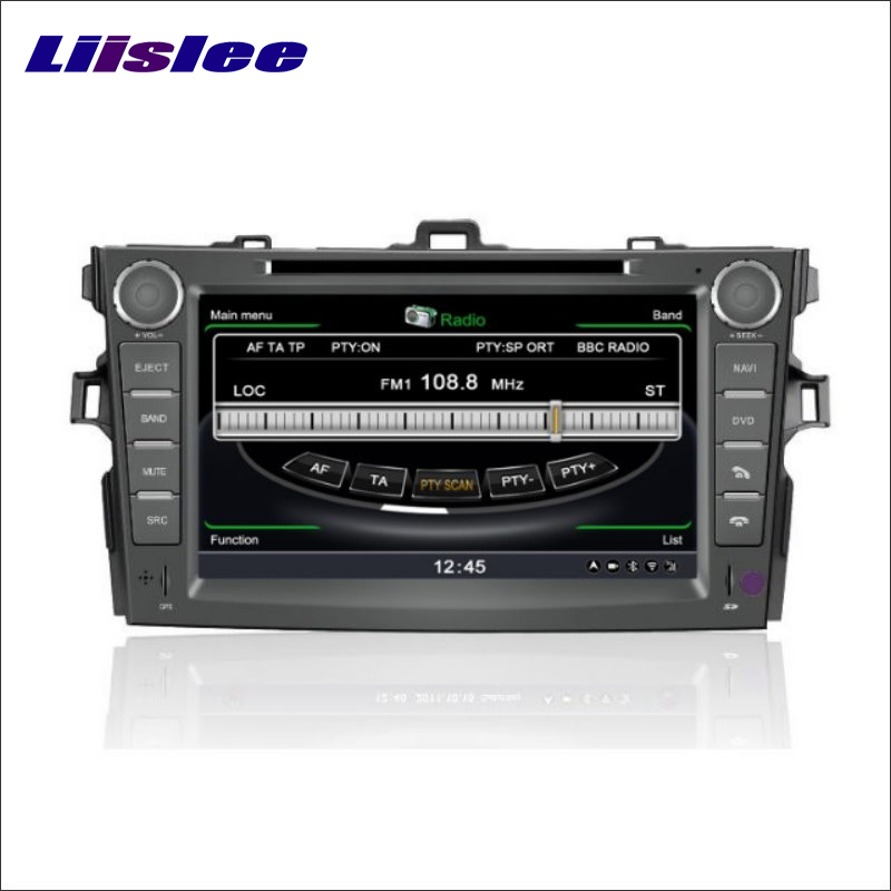 Liislee For <font><b>Toyota</b></font> <font><b>Corolla</b></font> E140 <font><b>E150</b></font> 2007~2012 Car DVD Player GPS Navi Navigation Stereo Radio iPod HD Screen Multimedia System image
