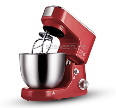1000W Electric cooking stand Food Mixer egg beater dough Blender Baking Whipping cream tilt head kitchen chef Machine 5L multi functional dough mixing machine electric dough mixer small automatic food mixers egg beater 5l commercial chef machine
