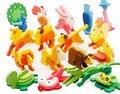 Деревянные 3d головоломки DIY Игрушки Развивающие животных модель детские игры для Детей infantiles jouet enfant bois логические подарки