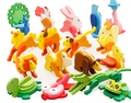 Wooden 3d jigsaw puzzles DIY Toy Educational animal model baby game for Children infantiles jouet bois enfant brain teaser gifts