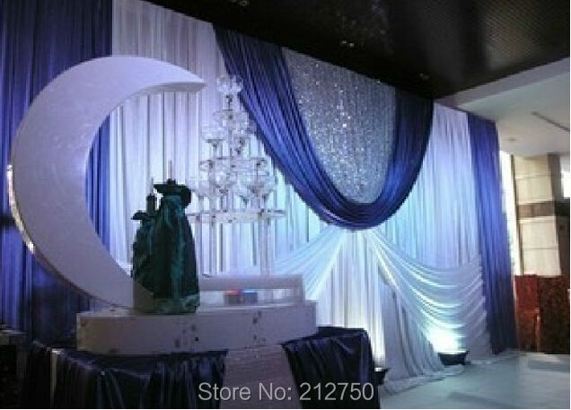 Curtains Ideas curtains decoration pictures : Aliexpress.com : Buy New European style wedding props 70 colors ...