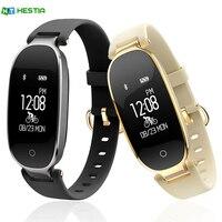 HESTIA S3 Fashion Smart Band Bracelet Girl Women Heart Rate Monitor Wrist Smartband Lady Female Fitness