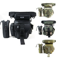 Men Military Tactical Travel Hiking Riding Cross Body Messenger Shoulder Hip Bum Waist Thigh Drop Fishing