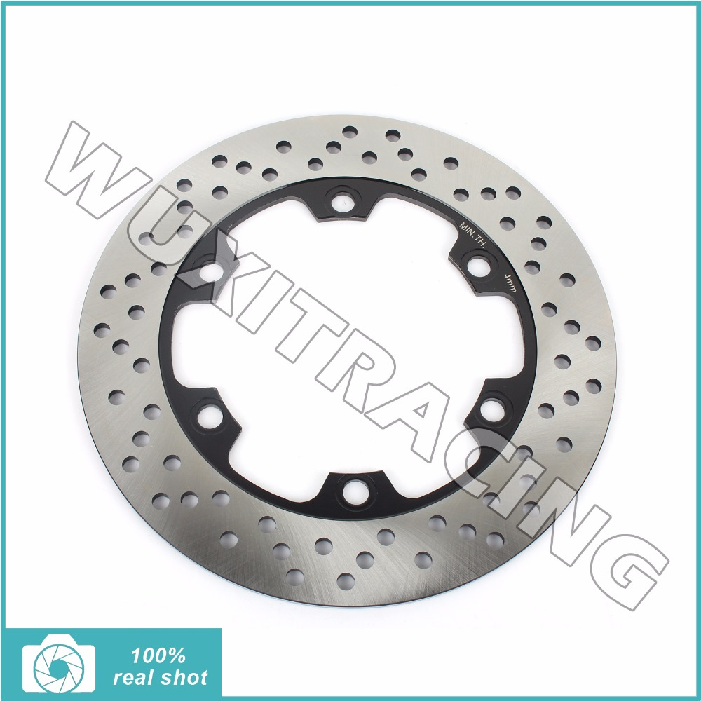 230mm Motorcycle REAR Brake Discs Rotor For KAWASAKI KL 650 1987-1998 KLE 500 1991-2007 KLR 650 1987-2007 aftermarket free shipping motorcycle parts bike lowering links fit for 1987 2007 kl klr 650 silver