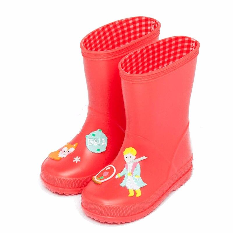 Baby jongens en meisjes regenlaarzen Kinderen cartoon grappige - Kinderschoenen - Foto 5