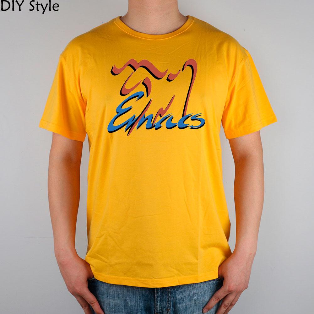Shirt design blue cotton - Emacs Gnu Xemacs Lisp Programmer Red And Blue Logo T Shirt Top Lycra Cotton Men