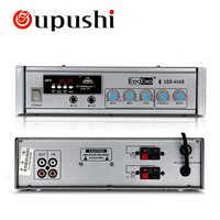 Oupush i 40 W Bluetooth Mini USB amplificateur maison fond musique numérique stéréo Audio avec haut-parleur de plafond, haut-parleur mural 70/100 V
