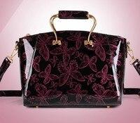 2016 genuine leather bright bow shoulder hand Wedding Bridesmaid ladies festive female bag wholesale mixed