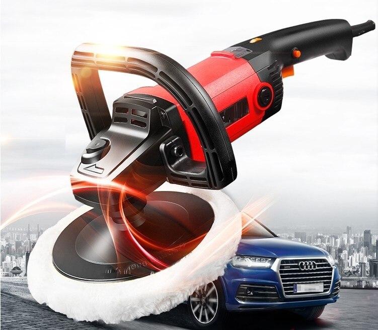 220В, 1250 Вт автоматический полировщик дисков, машина для полировки автомобилей, шлифовальный станок|car polish|car machine polishingmachine machine | АлиЭкспресс