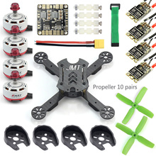 JMT X180 DIY Racing Drone Quadcopter Combo Frame w/ EMAX RS2306 2750KV 2400KV Brushless Motor + BLHeli-s 30A / 4in1 20A 12A ESC jmt rc hexacopter aircraft electronic kit 700kv brushless motor 30a esc 1255 propeller gps apm2 8 flight control diy drone