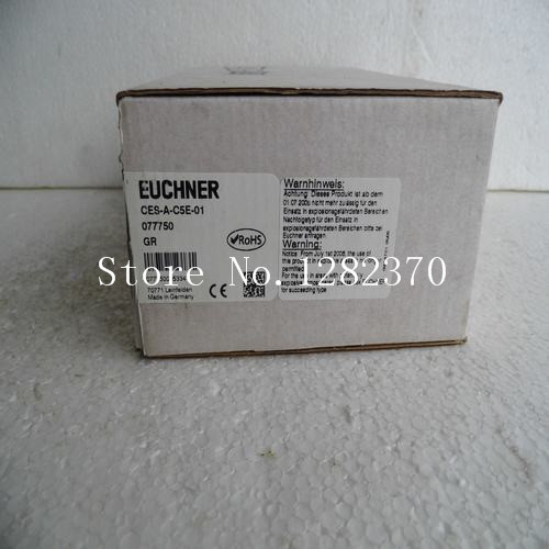 [SA] New original authentic special sales EUCHNER proximity switches CES-A-C5E-01 spot [sa] new original authentic special sales keyence sensor fu 38 spot