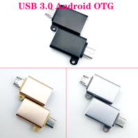 2pcs/lot Micro USB adapter Micro USB male-female OTG converter with Android cable 3.0usb 3.0 to Micro