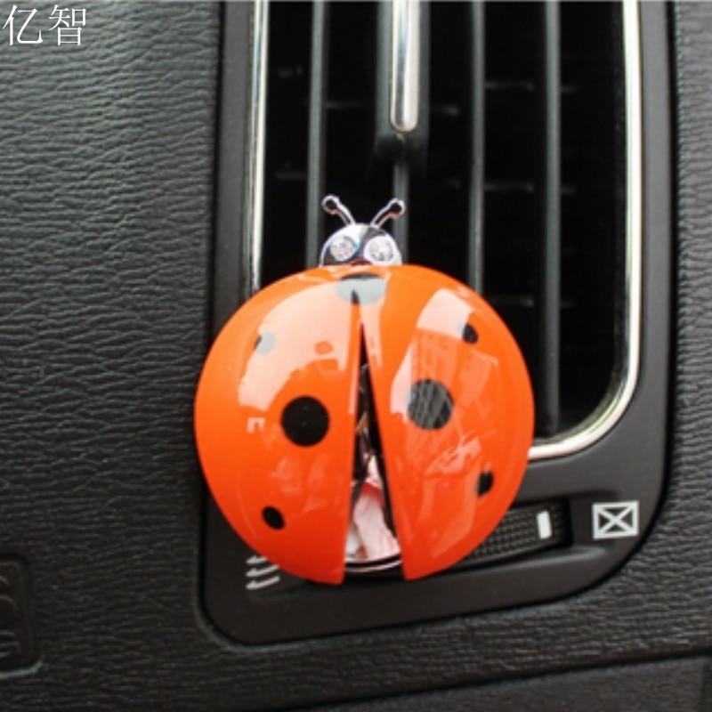 YZ lijepa bubamara auto parfem Air osvježivač djevojka auto - Dodaci za unutrašnjost automobila
