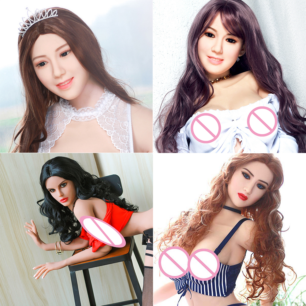 Hanidoll Sex Dolls Head Height for 140cm~170cm Real silicone Love Doll Heads With Oral New Sex Toys For Men real doll heads цена