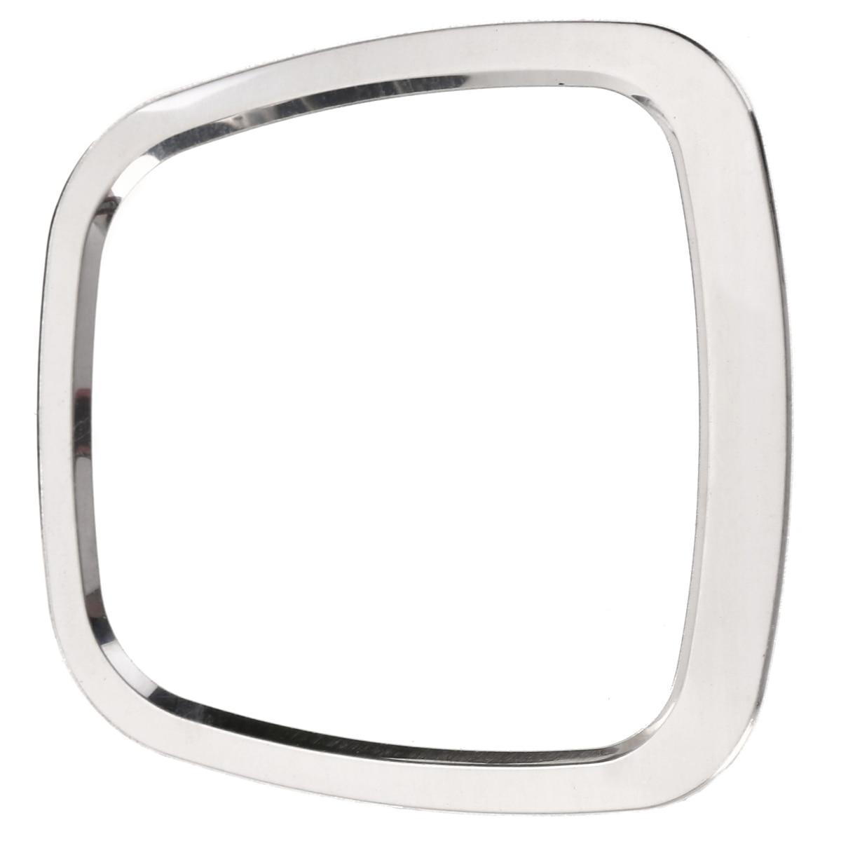Car Steering Wheel Centre Ring Steering Wheel Cover Trim Aluminium Chromium alloy Decoration Frame Trim for A1 A3 A4 A5 A6 Q3 Q5 Red