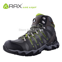 RAX Men Hiking Shoes Waterproof Trekking Climbing Boots Outdoor Breathable Training Shoes Men Professional Sneakers D0535