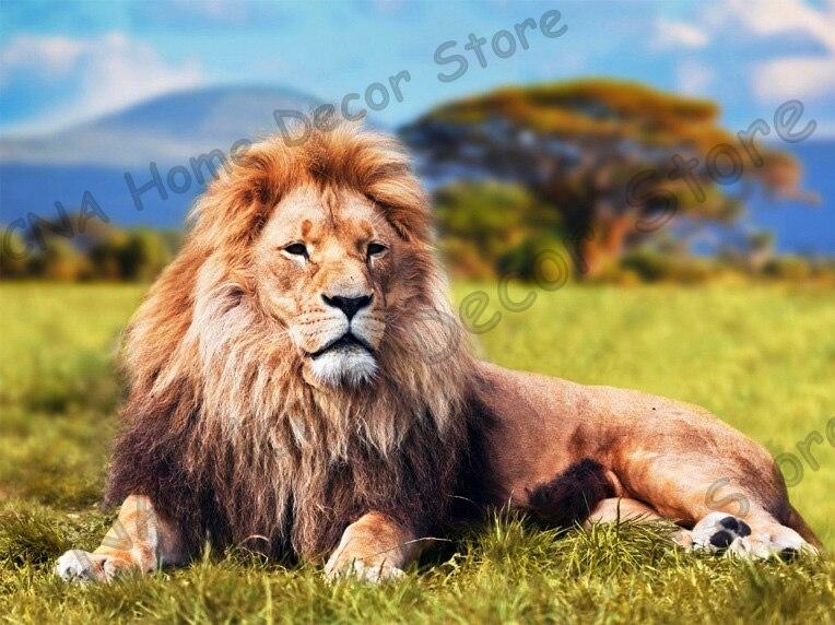 Tiger taladro completo Mosaico 5D Diy Diamond Bordado Pintura Resina - Artes, artesanía y costura - foto 4