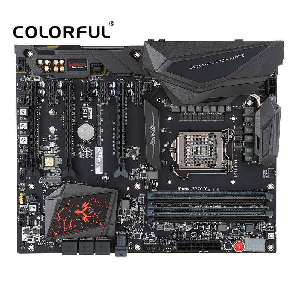 Colorful iGame Z270 Ymir-X Motherboard Systemboard for Intel Z270/LGA1151 DDR4