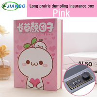 Spot Wholesale Hot Sale Book Safty Book Safe Password Box Key Lock Case Kids Hidden Secret
