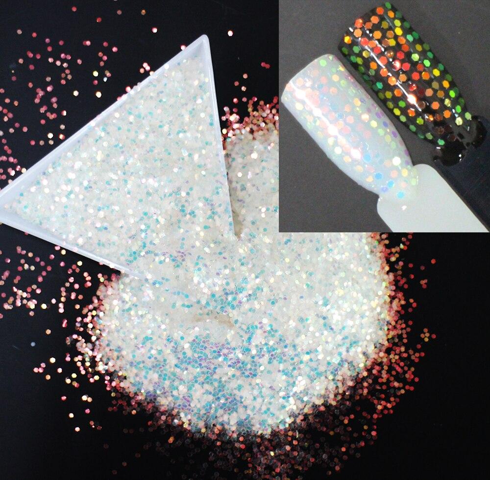 1mm Schillernden Regenbogen Farbe Glitters Scheiben Pailletten Glitters Pailletten Für Nagel Gut 30g ~ 500g Machen Up. Körper Tattoo Kunst