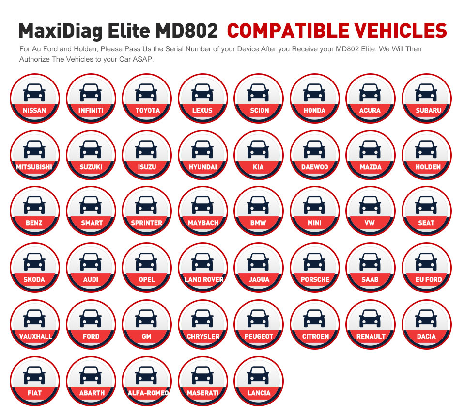 Image 5 - AUTEL MaxiDiag Elite MD802 OBD2 Scanner All System Car Detector OBDII Code Reader EPB Oil Reset OBD 2 Diagnostic Tool PK MD805-in Code Readers & Scan Tools from Automobiles & Motorcycles