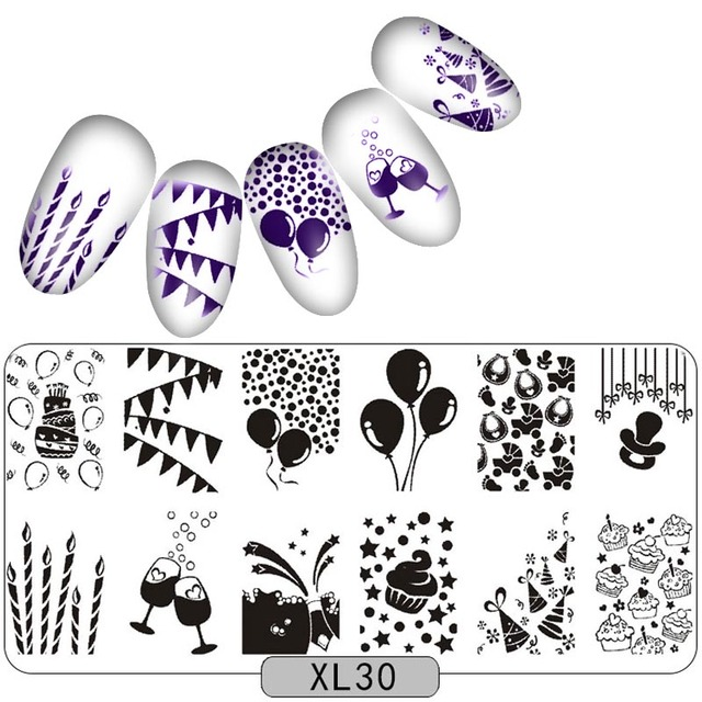 nail stamping plates stainless party halloween lace pattern nail art stamp stamping template image plate stencil - Halloween Art Templates