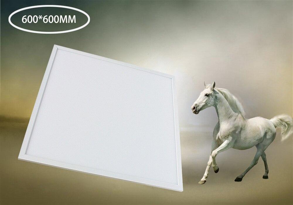 frete gratis dimmable 48 w 600x600 mm levou luz do painel de alto brilho chips de