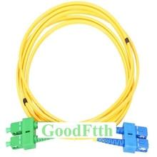 Fiber Optic Patch Cord Jumper SC/UPC-SC/APC SC/APC-SC/UPC SM Duplex GoodFtth 1-15m