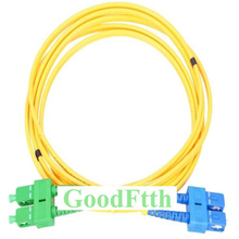 Fiber yama kablosu SC/APC SC/UPC SM dubleks GoodFtth 1 15m