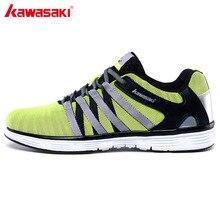 2017 Genuine Kawasaki Brand Mens Running Shoes Cushioning Breathable Mesh Women Sneakers Sports Athletic Shoes Ok-815