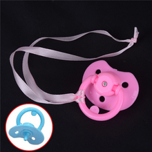 1PCS Handmade DIY Pacifiers Nipples Dummy Fit Random Pacifiers for Reborn Baby Doll for 43cm Doll Reborn Doll