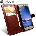 Xiaomi redmi note 3 pro redmi note 3 case cubierta de la carpeta de la pu bolso del teléfono de cuero case para xiaomi redmi note 3 prime case coque tomkas