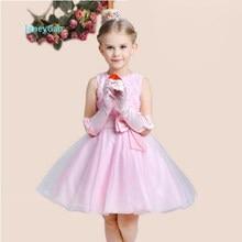 cc5a1b6a8e JaneyGao kwiat dziewczyna sukienki na wesele formalna suknia na przyjęcie  dla małej dziewczynki biały aplikacje śliczne