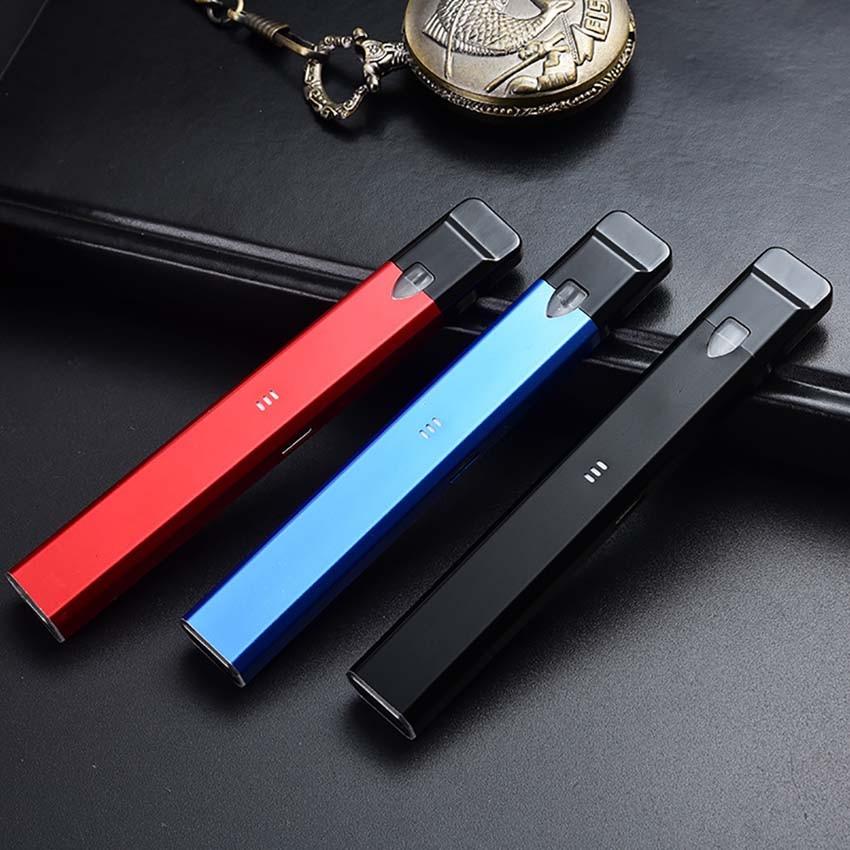 New Vapor Storm Stalker Starter Kit 400mah Battery 1 8ml Cartridge  Refillable E Cigarette Pen Kit Pod Vape Mod vs minifit kit