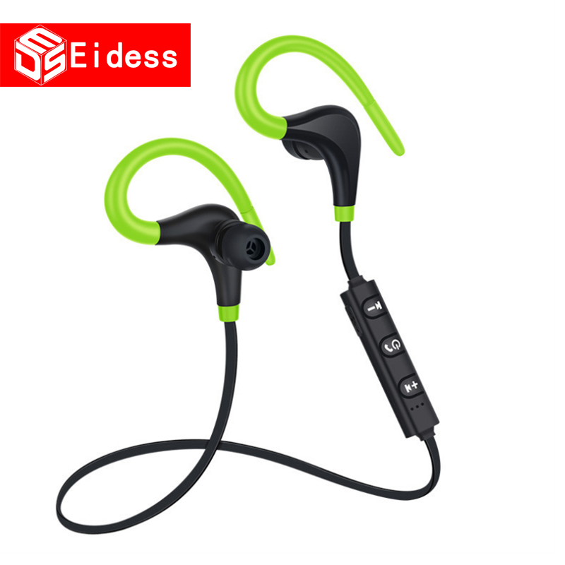 Bluetooth Headset Wireless Headset Stereo Headphones Sports Magnetic Earphones with Microphone for xiaomi All Mobile Phones in Bluetooth Earphones Headphones from Consumer Electronics
