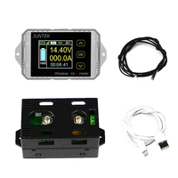 DC 120V 50A Wireless Battery Coulometer Capacity Voltage Current Power Meter KWH Tester Energy Meter Monitor