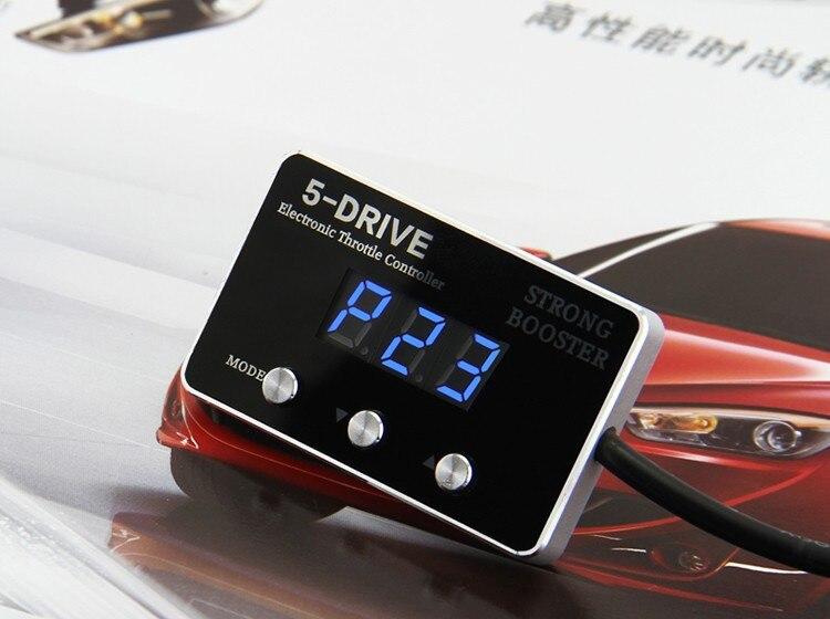 Fuerte refuerzo 5 modo de tráfico Coche controlador electrónico del acelerador p